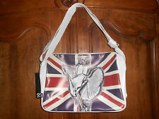 sac bandoulière reporter messager fashion LONDRES MARILYN squelette (2)  - neuf