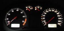 VW Golf 4 / Bora weiße Tacho beleuchtung umbau Led Set