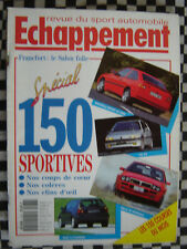 ECHAPPEMENT 1991 LANCIA DELTA HF INTEGRALE / SALON SPORTIVES / VW GOLF VR6