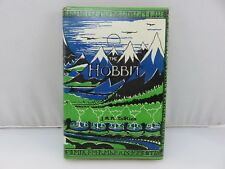 The Hobbit by JRR Tolkien Hardcover Book 1970 HM Co Taiwan Printing Edition RARE