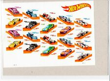 USPS Item #569004 - 2018 Hot Wheels (20) MINT USA stamp sheet in SEALED PACKAGE