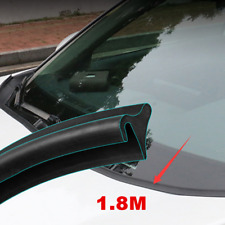 1.8M Car Windshield Trim Edge Moulding Rubber Weatherstrip Seal Protector Strips