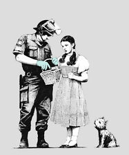 QUALITY BANKSY ART PRINTS PHOTO PRINT (STOP AND SEARCH)