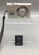 Nikon COOLPIX S4000 12MP Touchscreen Digital Camera Silver - Fast Ship - D23