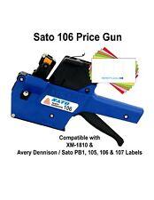 Sato Price Gun Tsa106 Pb1 6 1 Line 6 Characters