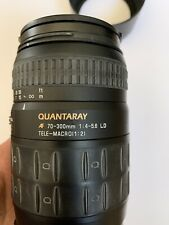 Quantaray Canon EF High Speed 70-300mm f/4.0-5.6 Lens For Canon