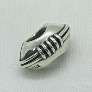 Authentic Pandora Football Pigskin Sport Charm 790384 Sterling Silver Retired
