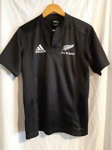 Adidas All Blacks Mens rugby jersey Size small