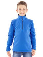 CMP Sweatshirt Function Top Fleece Blau Collar Stretch Lightweight