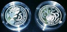 France : Rare 5 Francs 1995 ONU BE FDC Belle épreuve Argent Silver