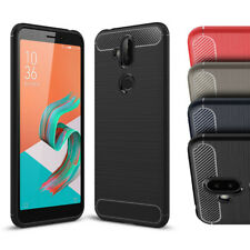 Case for ASUS ZenFone 5Q / 5 Lite, Ultra Slim Shockproof Rubber TPU Phone Cover