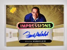 2017-18 UD Upper Deck SPx Impressions Auto #IA-FM Frank Mahovlich /25