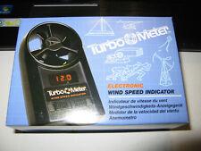 Davis Instruments Turbo Meter Electronic Wind Speed Indicator # 271 Anemometer