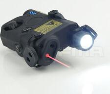 PEQ LA5 LED White light + Red laser with IR Lenses FMA Upgrade Version Black