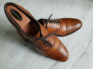 Allen Edmonds Strand fine mens Brogue Oxford Leather shoes,exc.cond.size 9/43