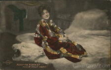 Actress Ready For Mischief Evelyn Nesbit Postcard Vintage Post Card