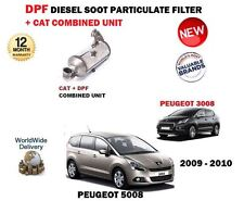 FOR PEUGEOT 3008 5008 1.6 HDI DIESEL 2009-2010 PARTICULATE FILTER DPF & CAT