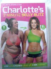 69936 DVD - Charlotte's 3 Minute Belly Blitz [NEW / SEALED]  2014  8302664