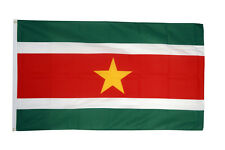 SURINAME FLAG 3 x 2 FT - National Country - 100% POLYESTER WITH EYELETS
