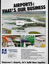 AEROPORT DE PARIS ORLY WEST NEW TERMINAL AIR INTER/FINNAIR JAKARTA ABU DHABI AD