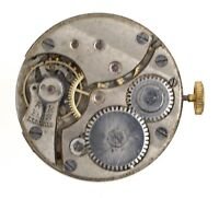 TRENCH WRISTWATCH MOVEMENT SWISS LEVER C WW1 SPARES OR REPAIRS N163