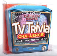 Uncle John's Bathroom Reader TV Trivia 2013 Challenge!  Calendar  Brilliant!!!