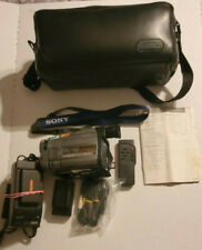 Sony Handycam Vision Ccd-Trv52 8mm Analog Camcorder w/ Accessories Tested