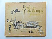 Vintage Ste Anne De Beaupre Souvenir Booklet Brochure Canada Ephemera