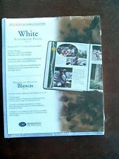 Creative Memories White Scrapbook Pages 15 Sheets 30 Pages 8 1/2x11