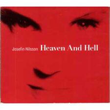 CD SINGLE ABBA Josefin NILSSON Heaven and Hell 2-track