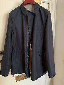 luciano barbera reversible Wool/ Nylon jacket Size 48(RRP£1060)