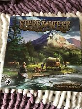 Sierra West Board Game Unpunched