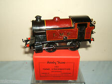 VINTAGE HORNBY '0' C/W No.101 LMS 0-4-0T LOCO  BOXED