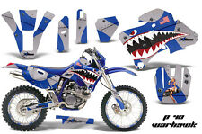 AMR RACING MX NUMBER PLATE DECAL STICKER KIT YAMAHA WR 250F 426F 400F 98-02 PWU