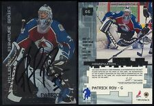 1999-00 Be A Player BAP Millennium Signature Series #66 Patrick Roy Autograph