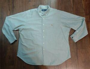 Mens Ralph Lauren Button Up Shirt Size 18 36/37
