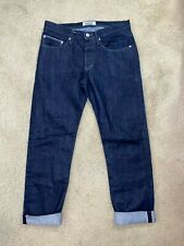 Naked & Famous Dark Indigo Slim Straight Selvedge Denim Men's Size 32 x 32