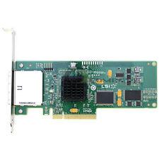 LSI Logic SAS3801E Dual SFF-8088 SAS/SATA PCIe Storage Controller Card Host Bus