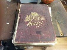 RARE 1889> THE BEAUTIFUL STORY GOLDEN GEMS RELIGIOUS THOUGHT< BUEL & TALMAGE