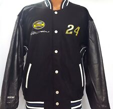 NEW! Nascar #24   Embroidered Reversible Jacket Size M