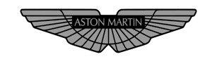 aston martin , chrome decal ,aston martin  vinyl sticker graphic X 2