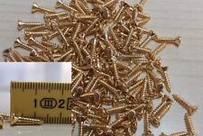 Viti battipenna dorate 20pz pickguard screws gold stratocaster telecaster bass