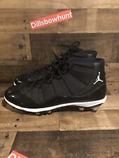 Mens Nike Air Jordan XI Retro TD Football Cleat Size 18 Black Patent 11