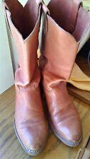 Vintage 70s Levi's Orange Tab Cowboy Boots Western Boots leather 10.5 Levis vtg
