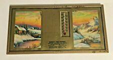 Vint Advertising Thermometer Calendar 1949 Mowery's Farm Equipment Prospect PA