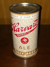 New listing Harvard Fully Aged Ale Flat Top Beer Can - Nice!
