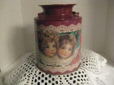 Little Girls on a Milk Jug Tin ~ **Gift Idea