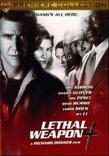 LETHAL WEAPON 4 - DVD BON ETAT REGION/ZONE 1 VIEWED ONCE SNAP CASE