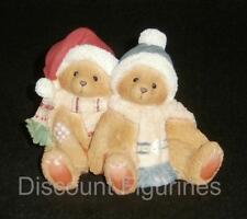 Cherished Teddies Enesco 1996 Jamie & Ashley Christmas Figurine #141224 New