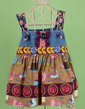 319 Matilda Jane girl Knot dress floral Painted By Numbers EUC 18 Months